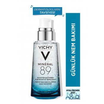 Vichy Mineral 89 Fortifying & Plumping Daily Booster 50 ml