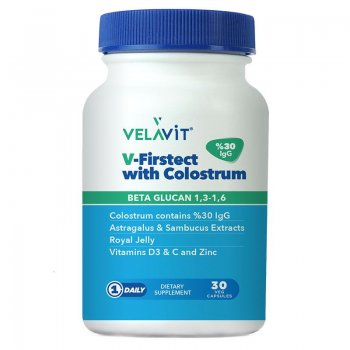 Velavit V-firstect With Colostrum 30 Tablet