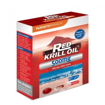 Naturo Pathica Red Krill Oil 500mg